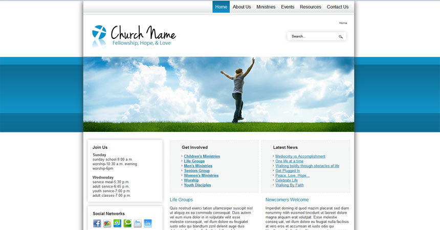 js fresh joomla template free joomla template from free joomla 2 5 template social activities and church